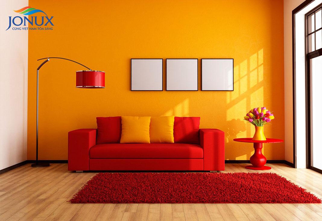 Người mệnh Hỏa nên sơn nhà màu gì?